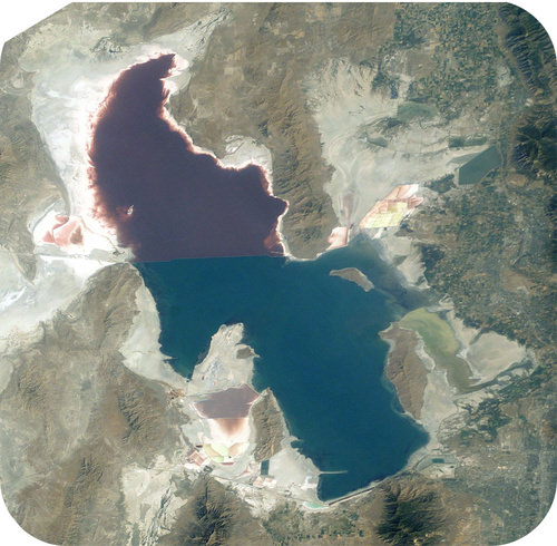 The Great Salt Lake contains a lot of sodium chloride