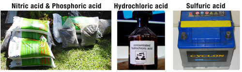 Uses of acid