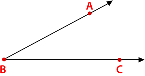 Identification Of Angles By Vertex And Ray Ck 12 Foundation