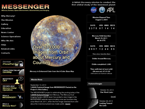 Messenger Mission News