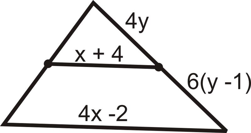 midsegment theorem read geometry ck 12 foundation. Black Bedroom Furniture Sets. Home Design Ideas