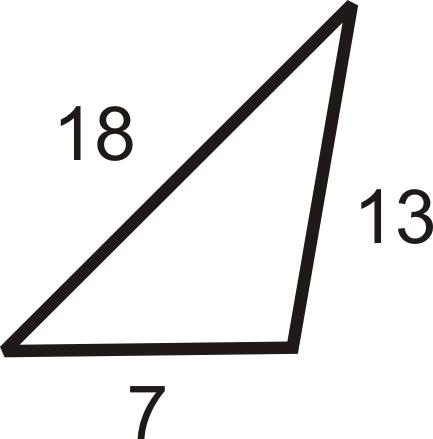 Triangle Inequality Theorem | CK-12 Foundation