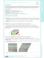 Surface Area and Volume Study Guide