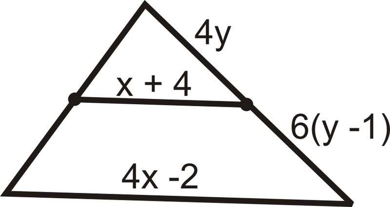 Midsegments of a Triangle  CK12 Foundation