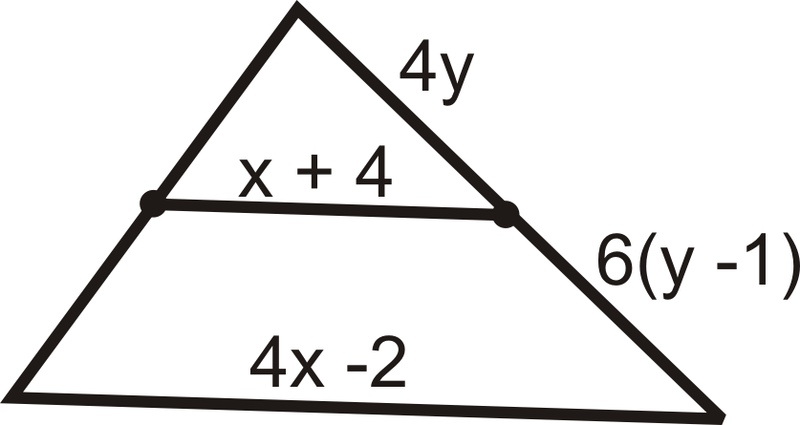Midsegments of a Triangle – Midsegments of Triangles Worksheet