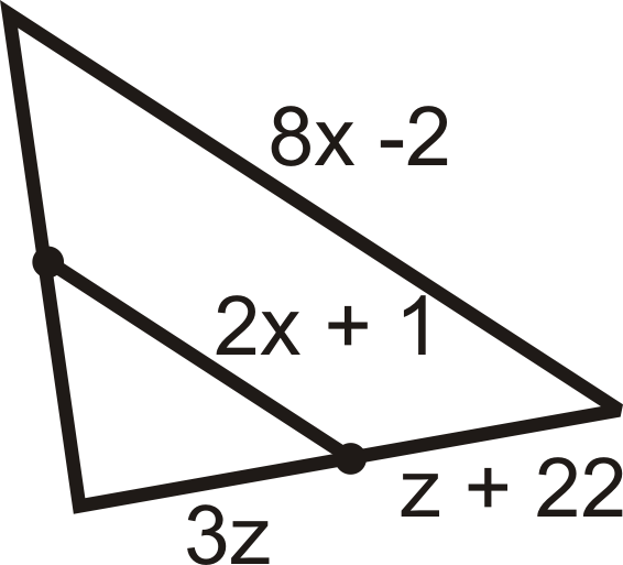 Midsegment Theorem Read Geometry Ck 12 Foundation