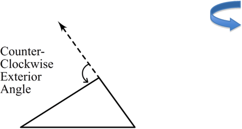 Triangle Sum And Exterior Angle Theorems Ck 12 Foundation