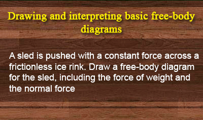 Types of Forces and Free-body Diagrams - Example 2