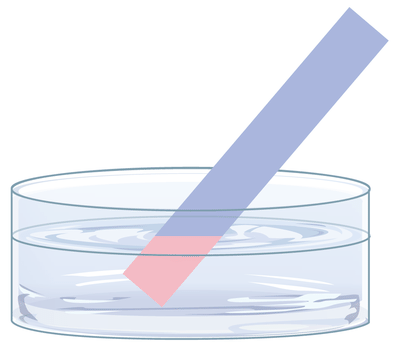 How Can Litmus Paper Be Used At Its Natural Color