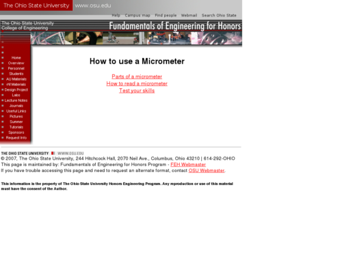 How to Use a Micrometer