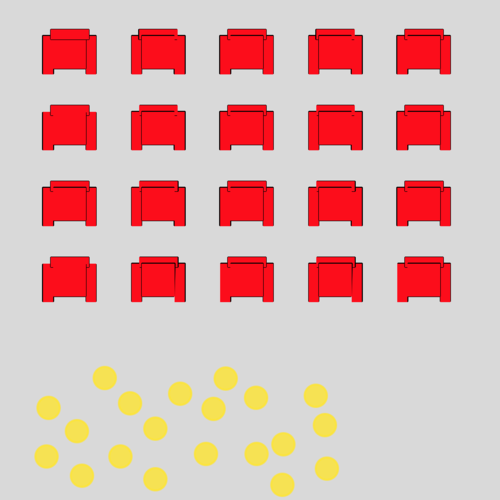 Differences of Fractions With Like Denominators: Movie Theater