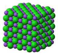 3D structure of sodium chloride
