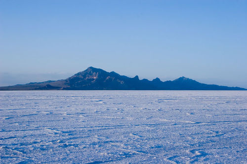 Image of the Bonneville Salt Flats