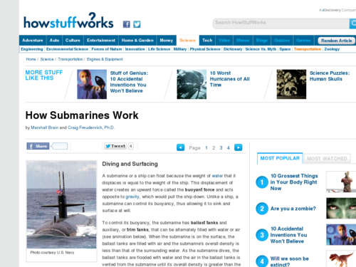 How Submarines Work