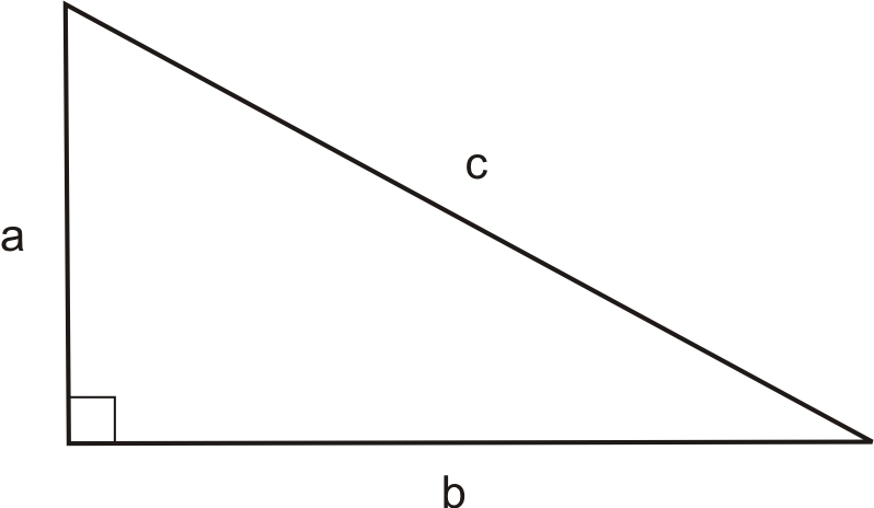 pythagorean theorem and c program The formula the picture below shows the formula for the pythagorean theorem in the pictures below, side c is always the hypotenuseremember that this formula only applies to right triangles.
