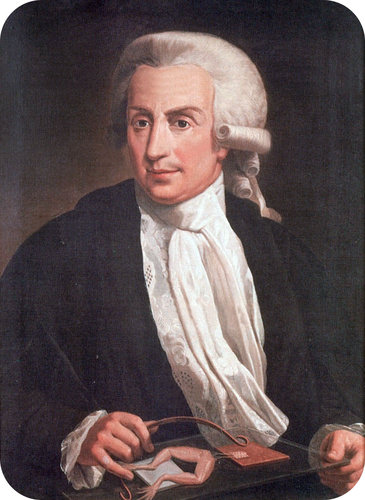 Luigi Galvani made the first voltaic cell