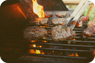 Barbecued foods