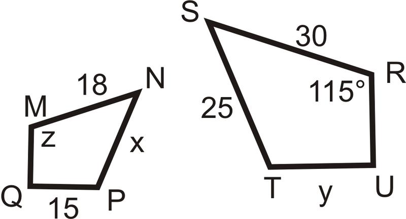Similar Polygons Ck 12 Foundation
