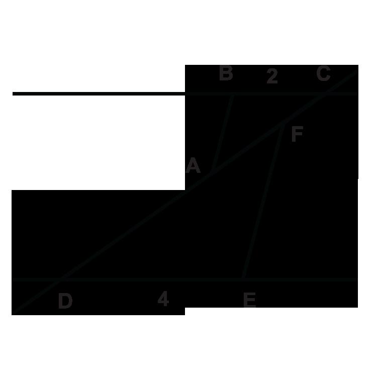 SAS Similarity ( Read )   Geometry   CK-12 Foundation