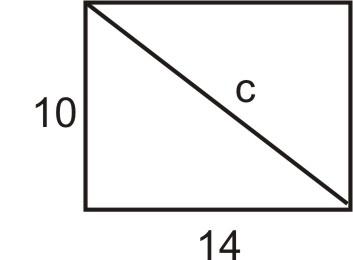 Applications Using The Pythagorean Theorem Read Algebra Ck 12 Foundation