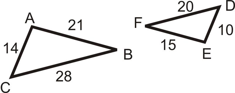 Sss Similarity Read Geometry Ck 12 Foundation