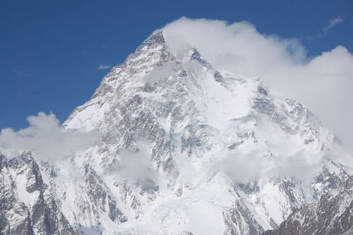 K2 is a mountain in the Himalaya Mountains