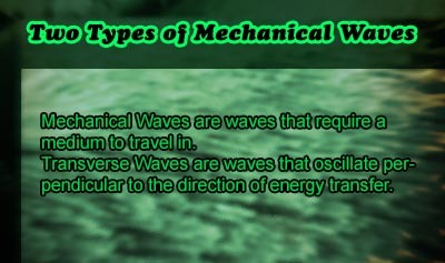 Two Types of Mechanical Waves - Overview