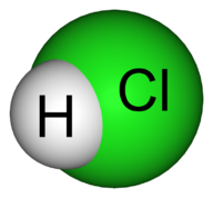 Structure of HCl