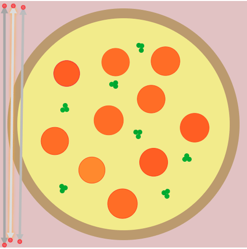 Conjectures and Counterexamples: Most Pizza Pieces with 3 Cuts