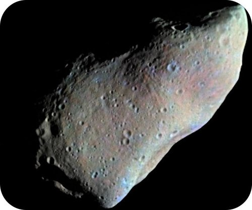 Picture of the asteroid 951 Gaspra