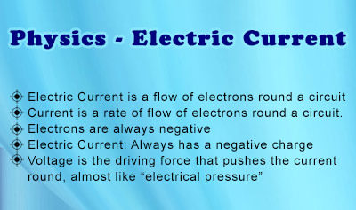 Physics - Electric Current