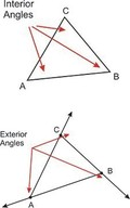 Triangle Sum and Exterior Angle Theorems