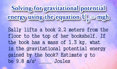 Gravitational Potential Energy - Example 1