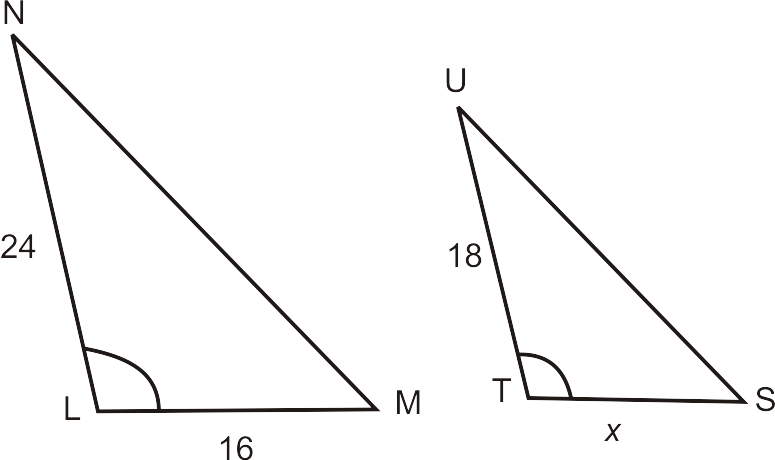 Find the Missing Side of a Triangle Using Similarity and – Similar Triangles Proportions Worksheet