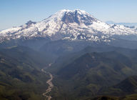 Picture of Mount Rainier in Washington