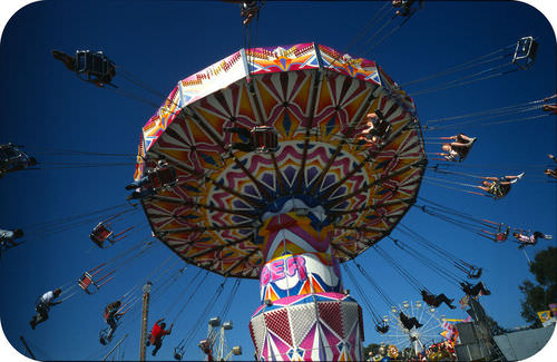Early hypotheses proposed that centrifugal forces moved continents. This is the same force that moves the swings outward on a spinning carnival ride