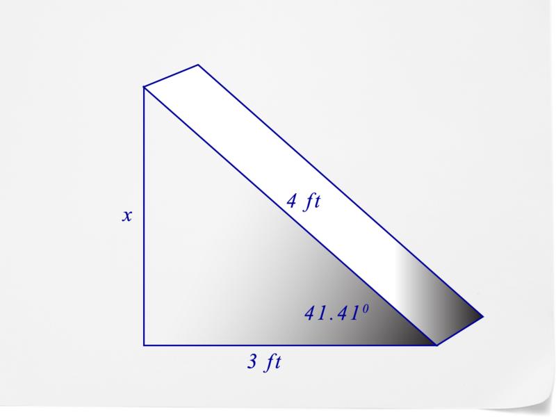 Using Trigonometric Ratios
