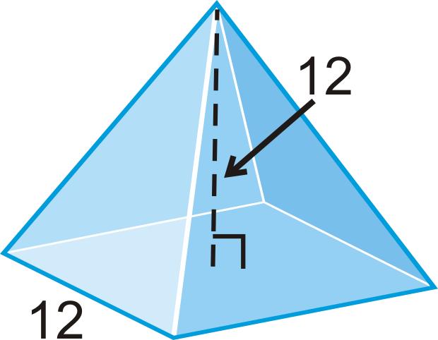 Volume Of Pyramids And Cones Ck 12 Foundation