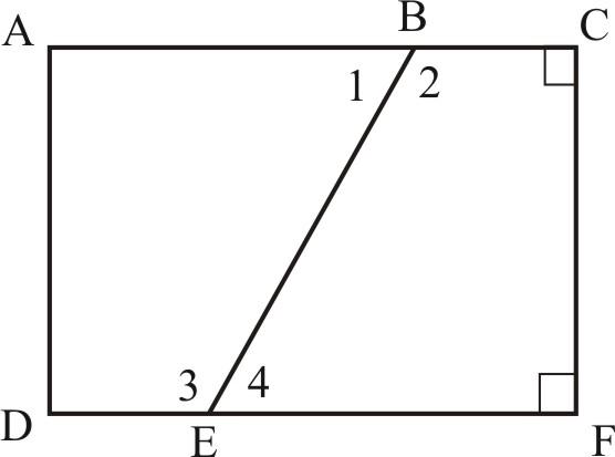 Pruebas sobre pares de ángulos