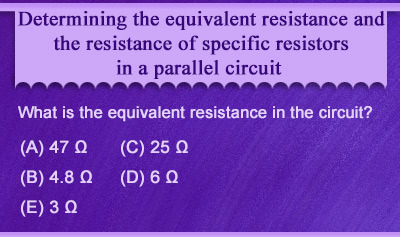 Ohm's Law Problems for Parallel Circuits - Example 3