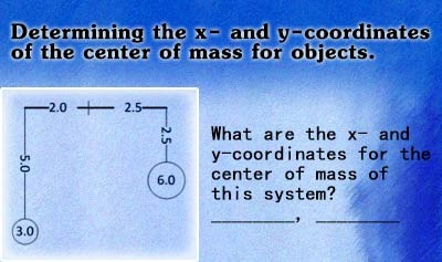 Center of Mass - Example 2