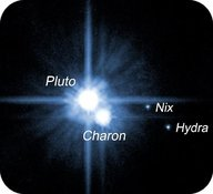Pluto and its moon, Charon, are actually two objects