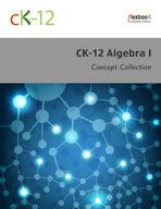 CK-12 Algebra I Concepts