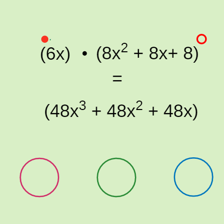 Distributing the Monomial