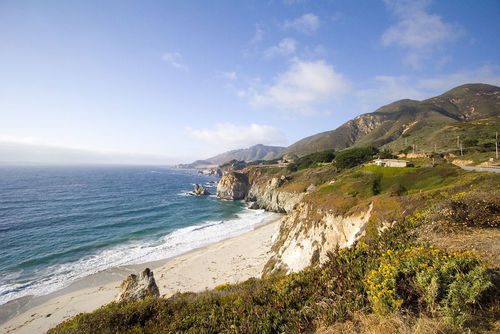 Big Sur is an active margin