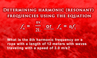 Harmonics 1: Standing Waves in Vibrating Strings - Example 4