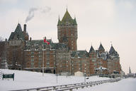 Quebec during the winter