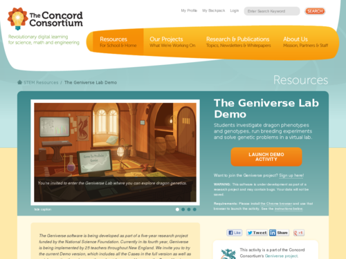 The Geniverse Lab Demo