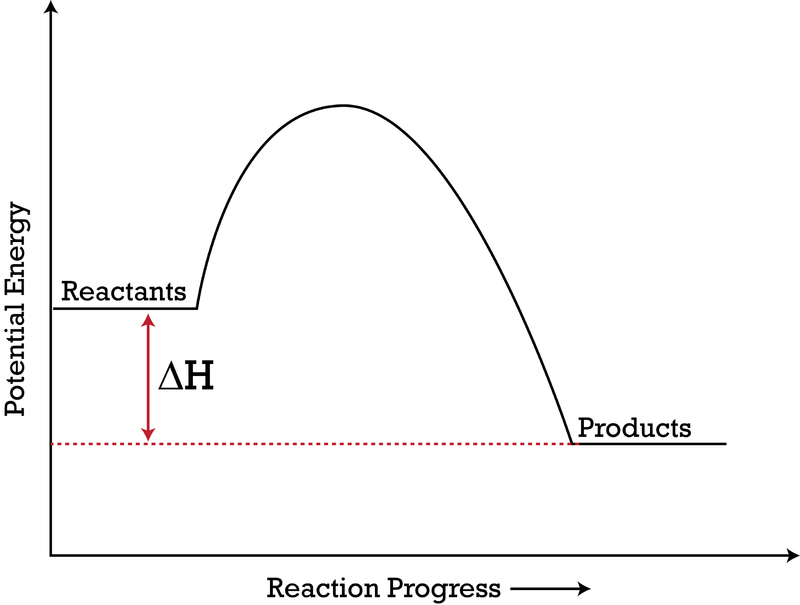potential energy diagram Kinetics quiz 4 potential energy diagrams 1 a catalyst increases the rate of a reaction by a increasing the concentration of the reactant(s) b decreasing the concentration of the reactant(s) c increasing the activation energy of the overall reaction d decreasing the activation energy of the overall reaction 2 consider.