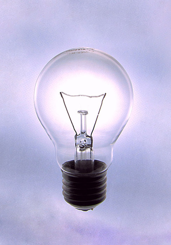 Argon is used in incandescent lightbulbs